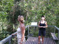 Chantal en Dineke in Litchfield National park